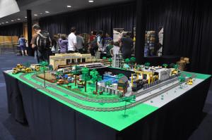 My LEGO Train Layout At Bricktastic