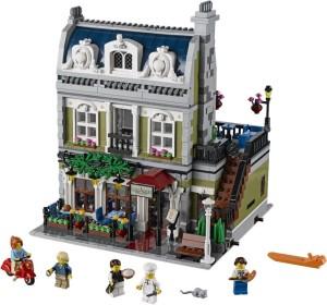 LEGO Parisian Restaurant modular building