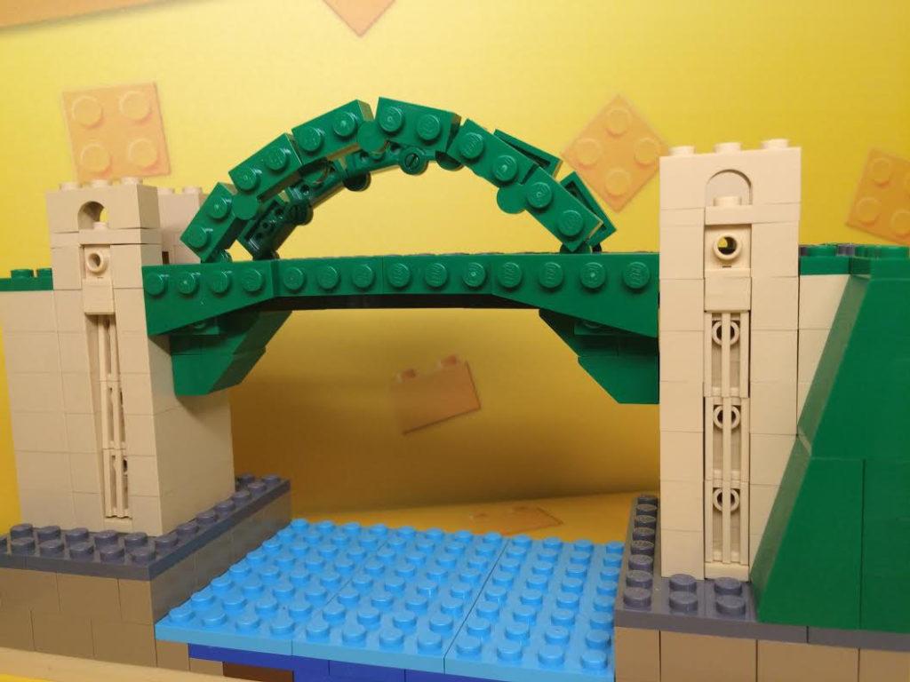 Tyne Bridge in LEGO