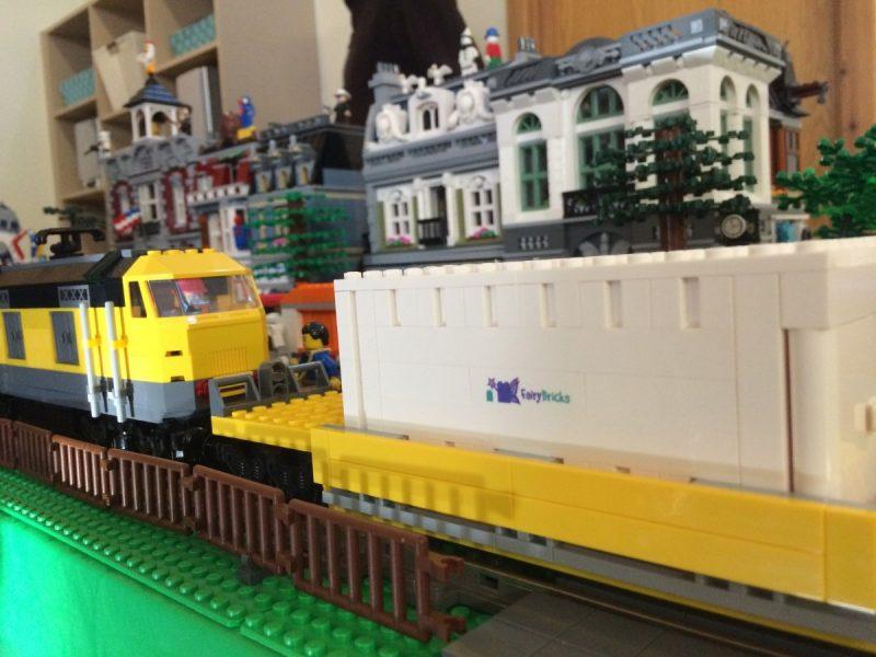 LEGO train display at Consett YMCA 2016