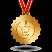 Bricks McGee in Top 50 LEGO blogs