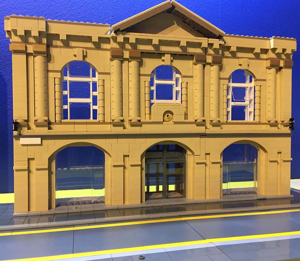 Customs House Theatre, South Shields, in LEGO