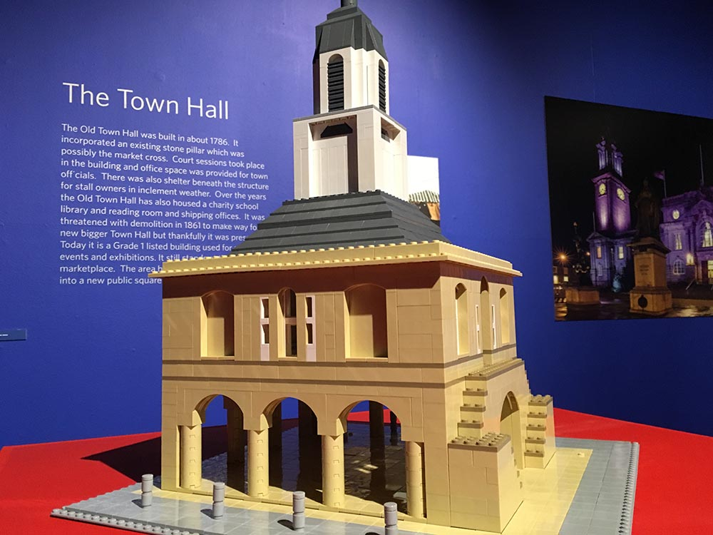 South Shields Old Town Hall in LEGO