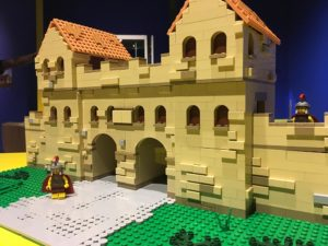 Arbeia Roman Fort in LEGO at South Shields Museum