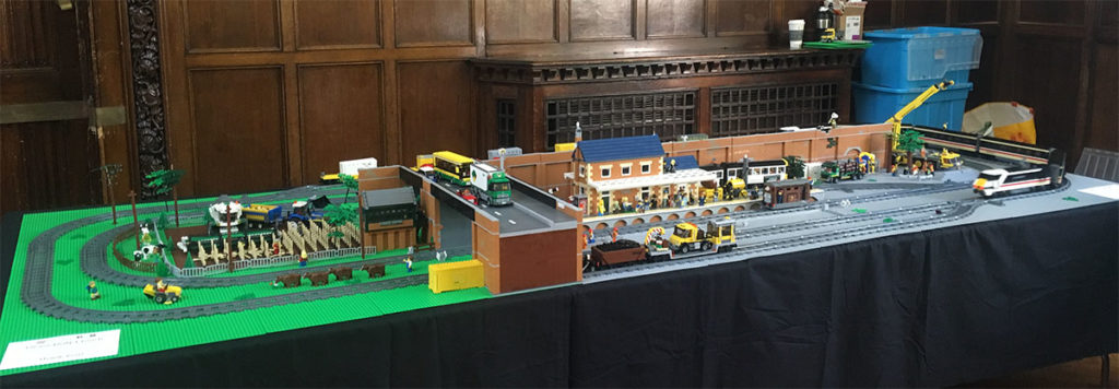 LEGO trains at Hull Block Con 2017