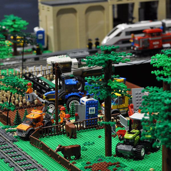 LEGO City Farm Model - LEGO model by Bricks McGee