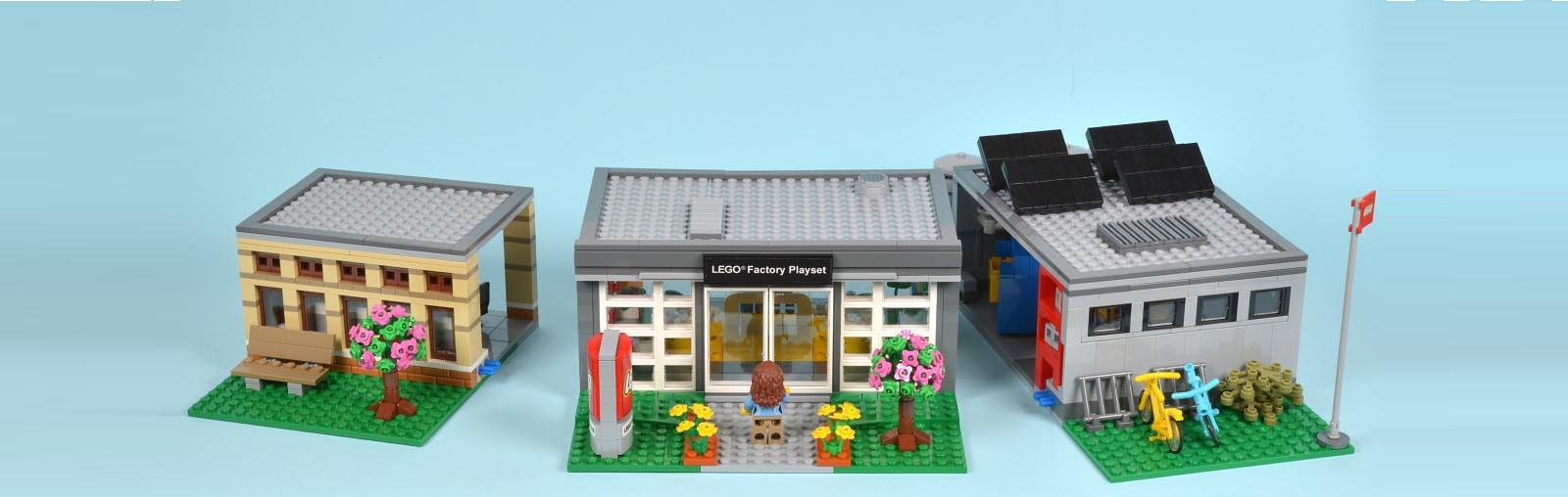 LEGO fan model