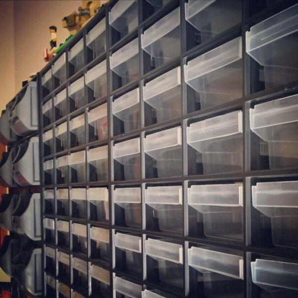 Jonas' LEGO storage