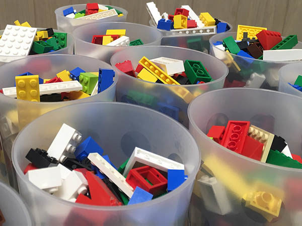 LEGO events and workshops for libraries in the UK