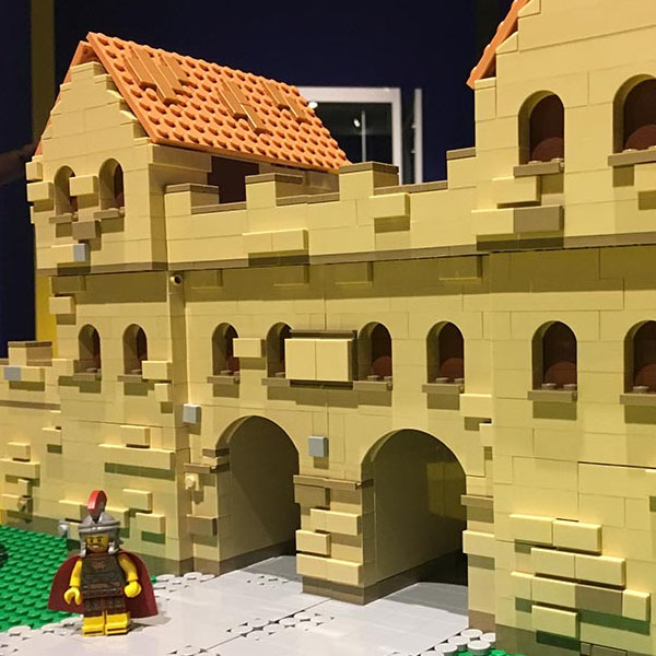 Arbeia Roman Fort & Museum logo - LEGO event and model client of Bricks McGee