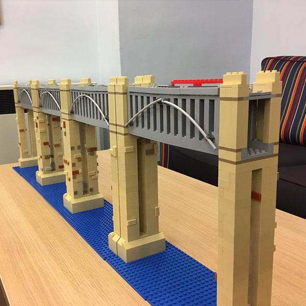 High Level Bridge LEGO model