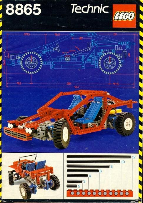 LEGO 8551 (Image: Brickset)