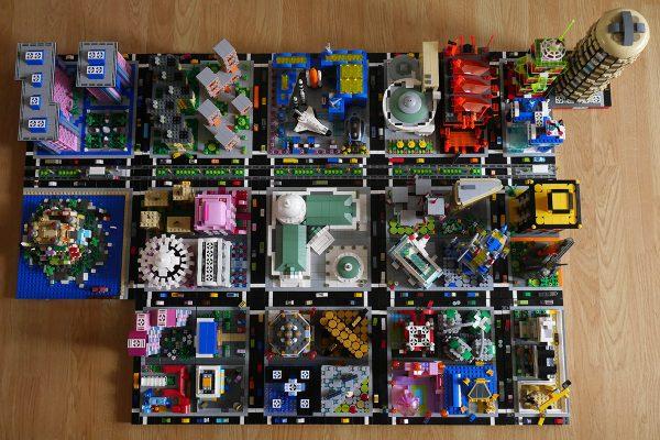 Cazs impressive LEGO micropolis city