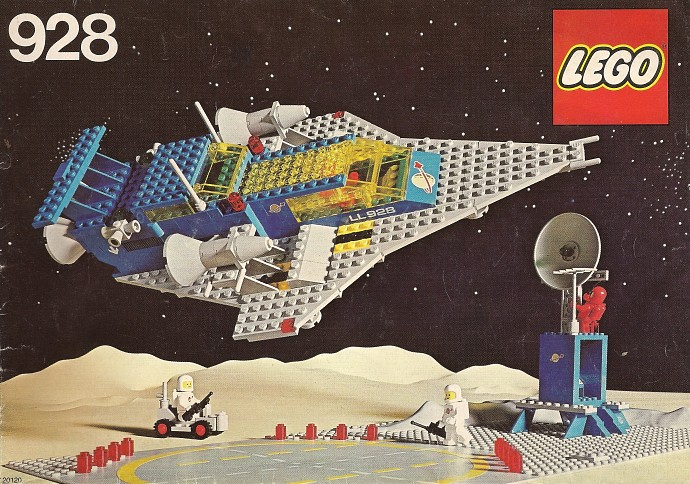 LEGO Classic Space Crusier 928 - Copyright Brickset/LEGO