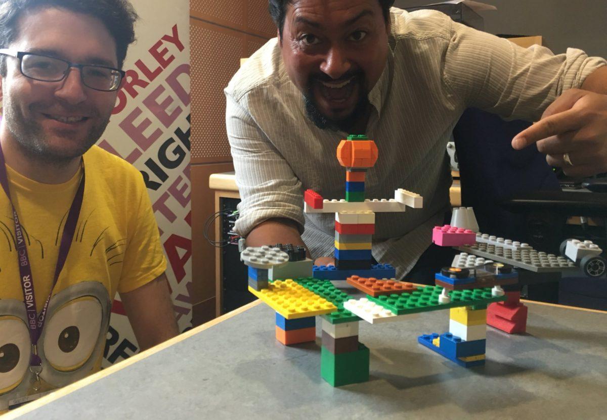 Bricks McGee on BBC Radio Leeds talking about LEGO workshops