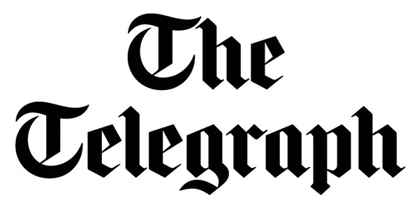 The Telegraph logo - LEGO event and model client of Bricks McGee