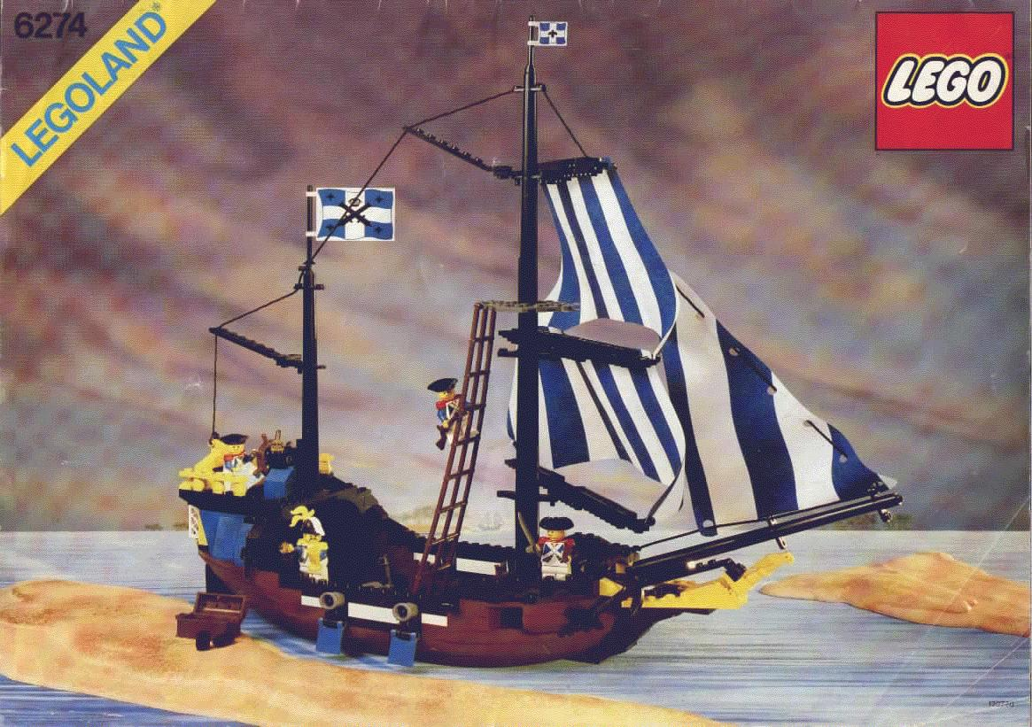 LEGO Caribbean Clipper set