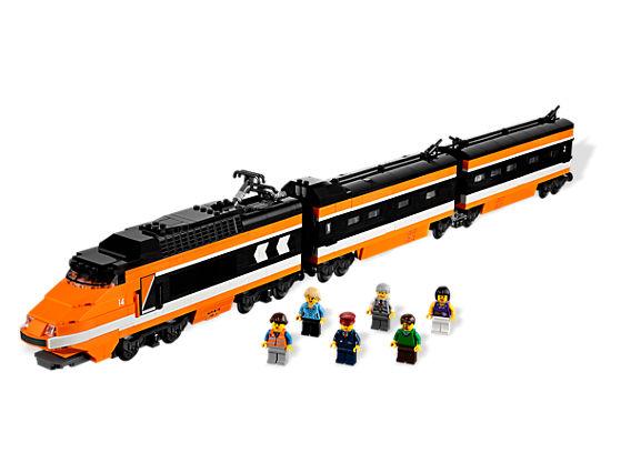 LEGO set 10233 - Horizon Express train. Copyright LEGO