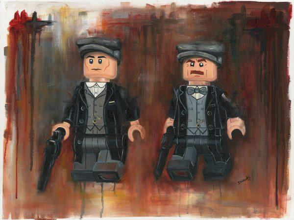 Peaky Blinders LEGO minifigure print by Deborah Cauchi