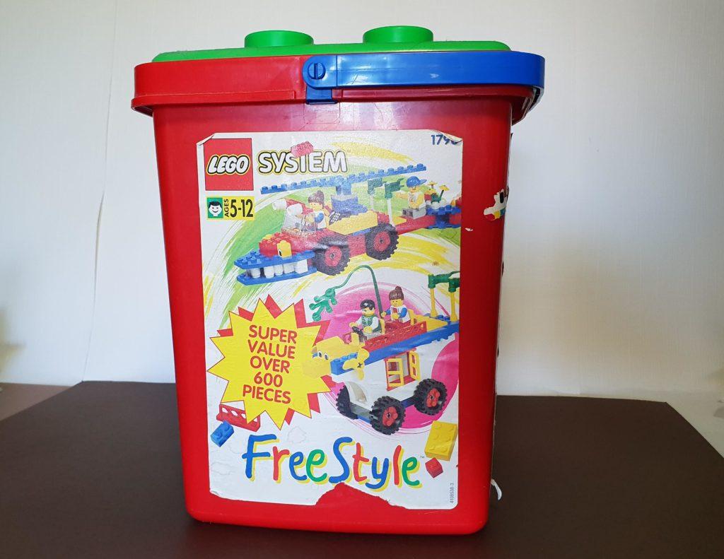 LEGO freestyle bucket set