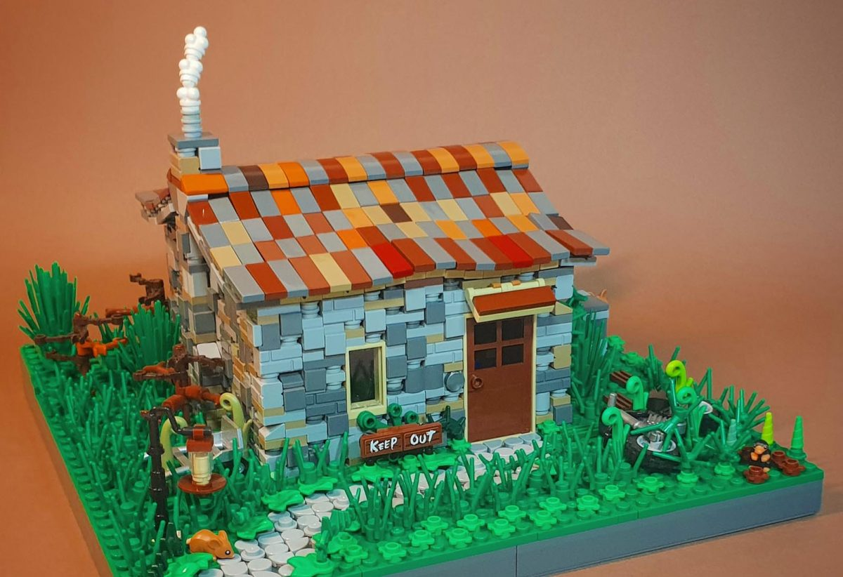 Roan's awesome LEGO cottage model