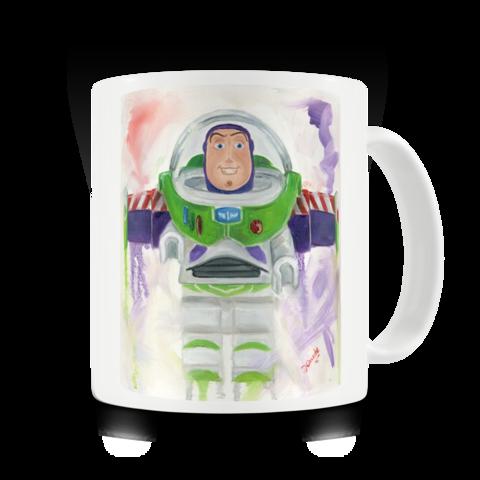 LEGO art - Buzz Lightyear mug