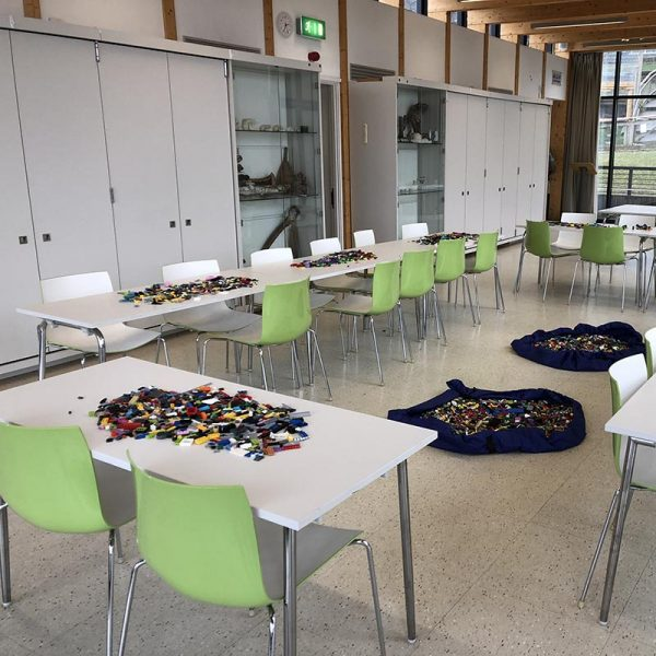 LEGO workshops set up at Horniman Museum iN London