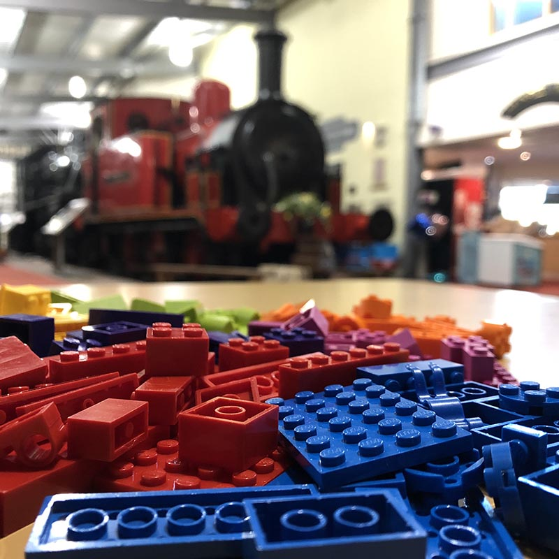 LEGO workshops for museums in the UK