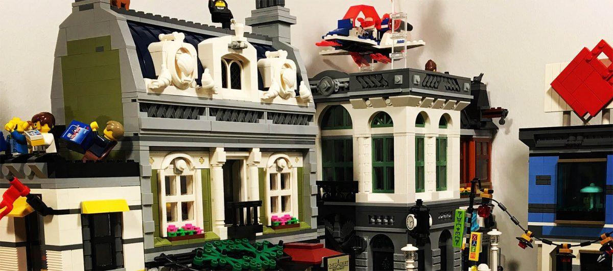 Brick Bakery's LEGO city