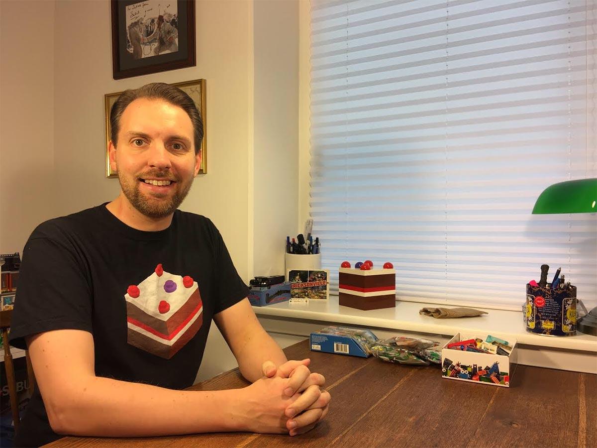 LEGO fan BrickBakery