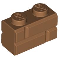 LEGO 1x2 masonry profile brick