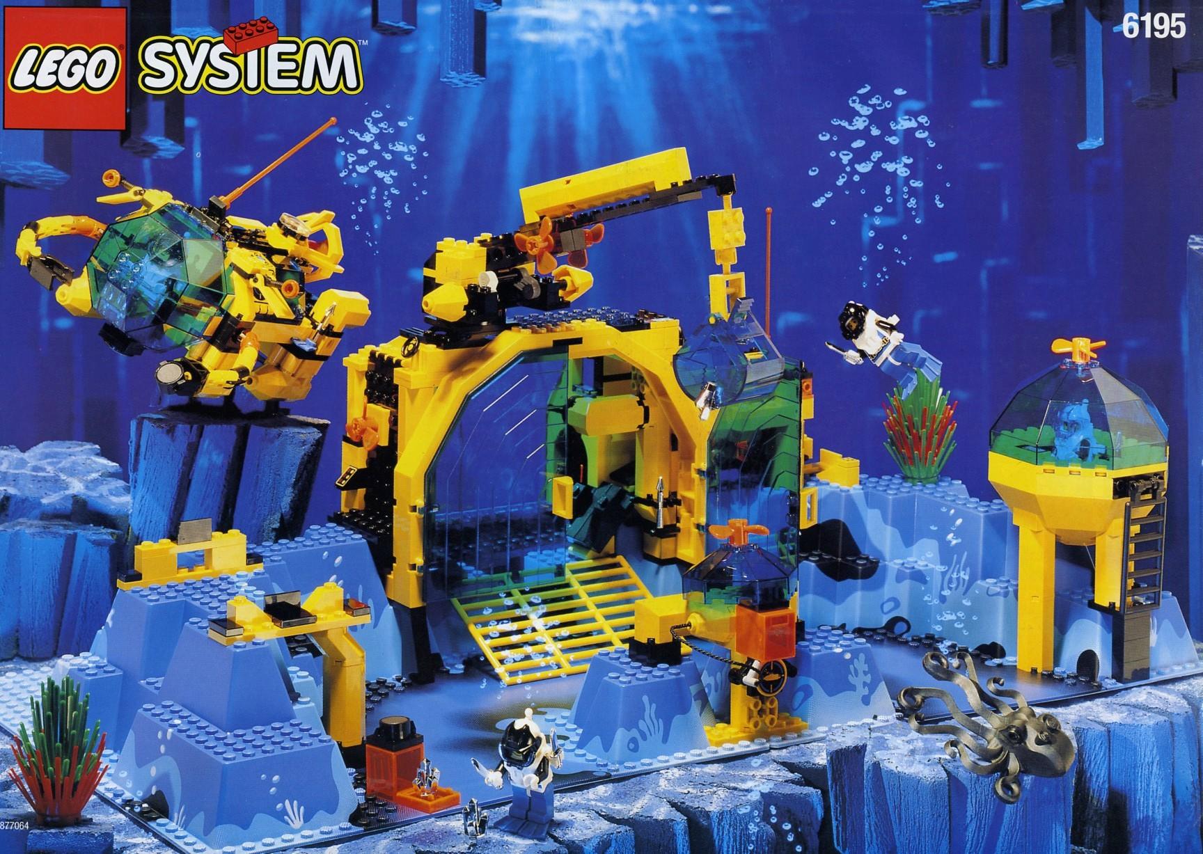 LEGO set - Neptune Discovery Lab (Image: Brickset)