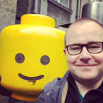 Edinburgh LEGO fan Stubot, aka Stewart Cromar