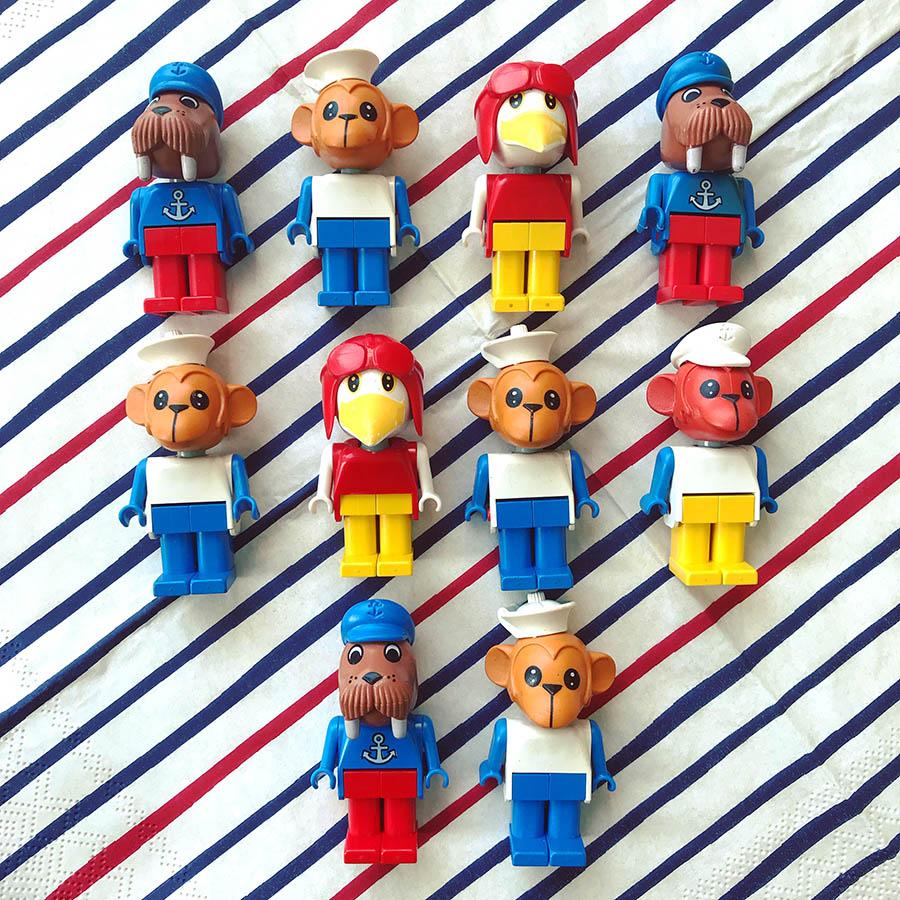 Stewart's LEGO Fabuland figures