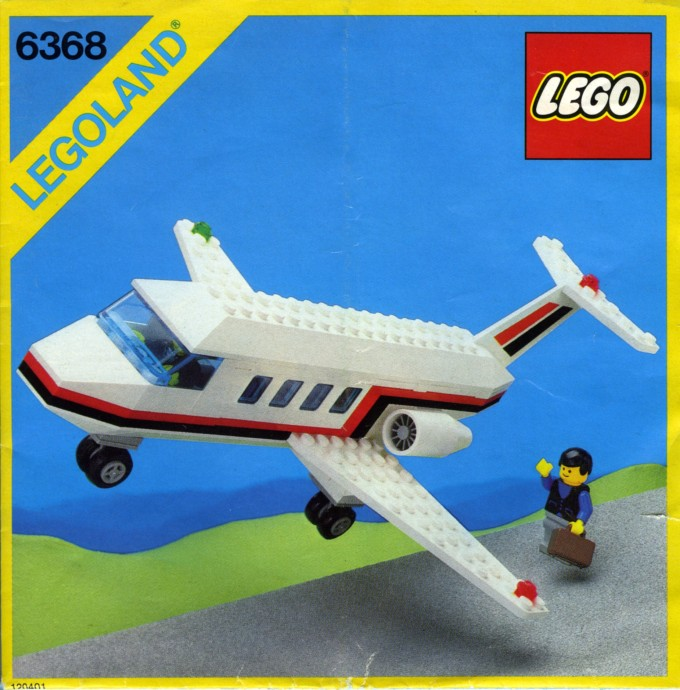 LEGO set 6368: Jet Airliner