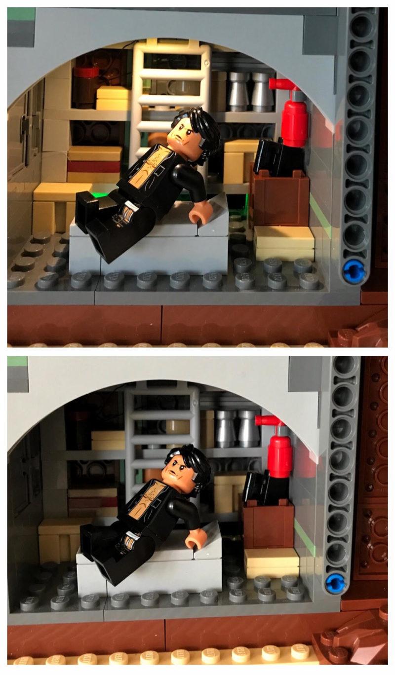 LEGO lights for Jurassic Park set