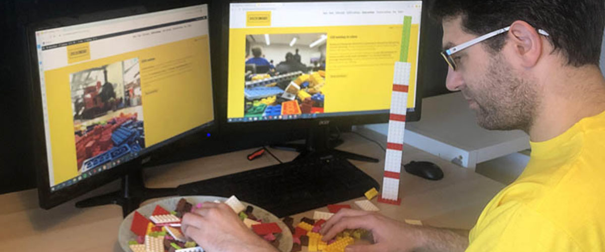 Online LEGO workshops by Bricks McGee