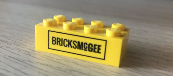 Custom printed Bricks McGee LEGO brick