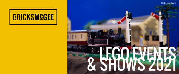 Bricks McGee list of UK LEGO events and shows 2021