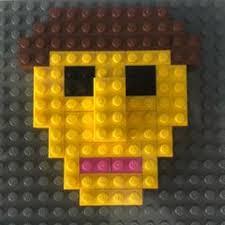 LEGO self portrait activity