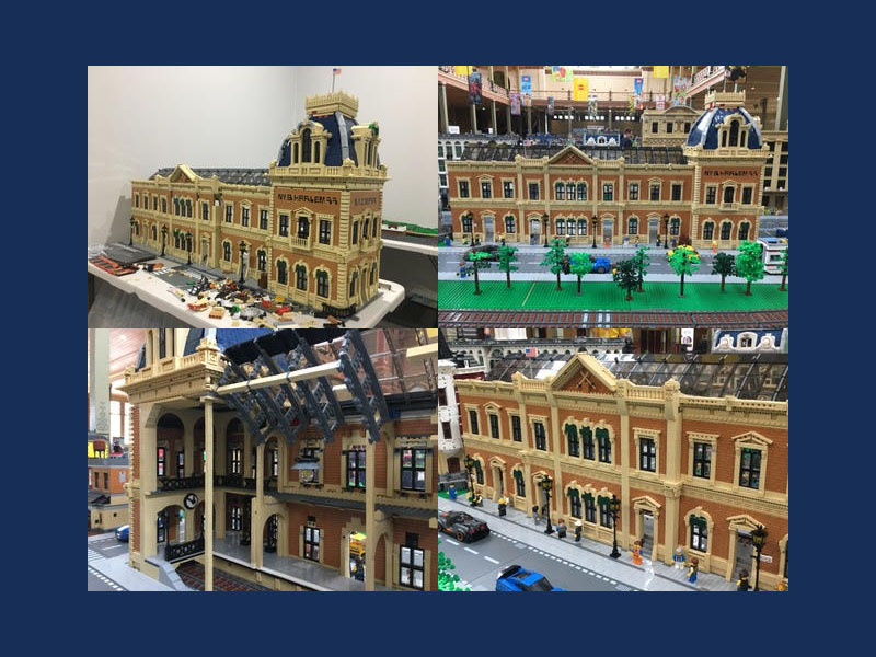 Brick Train Awards 2020 - Best Structure - NY Grand Central Station