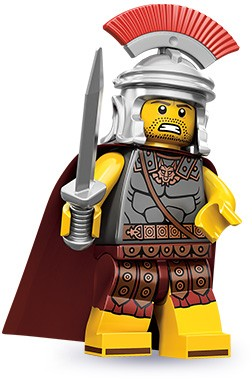 Centurion LEGO figure - image: Brickset
