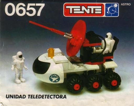 0657 Tente set model