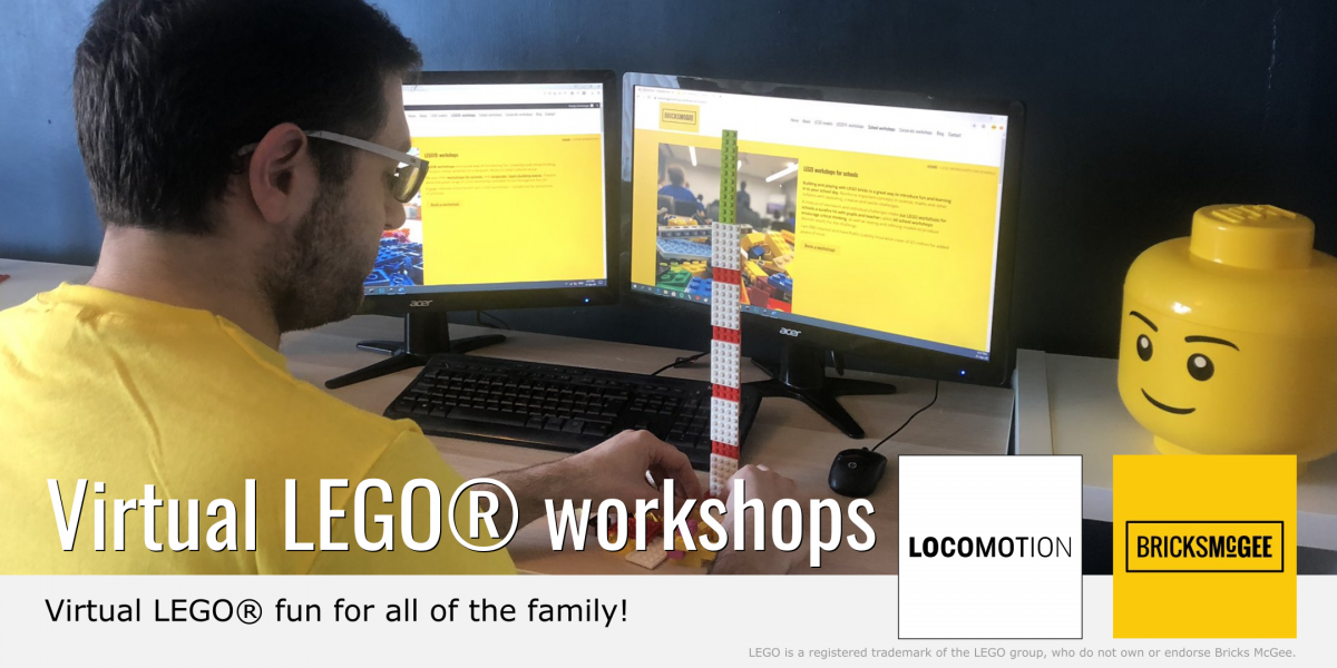 LEGO workshops for Locomotion Museum in the UK