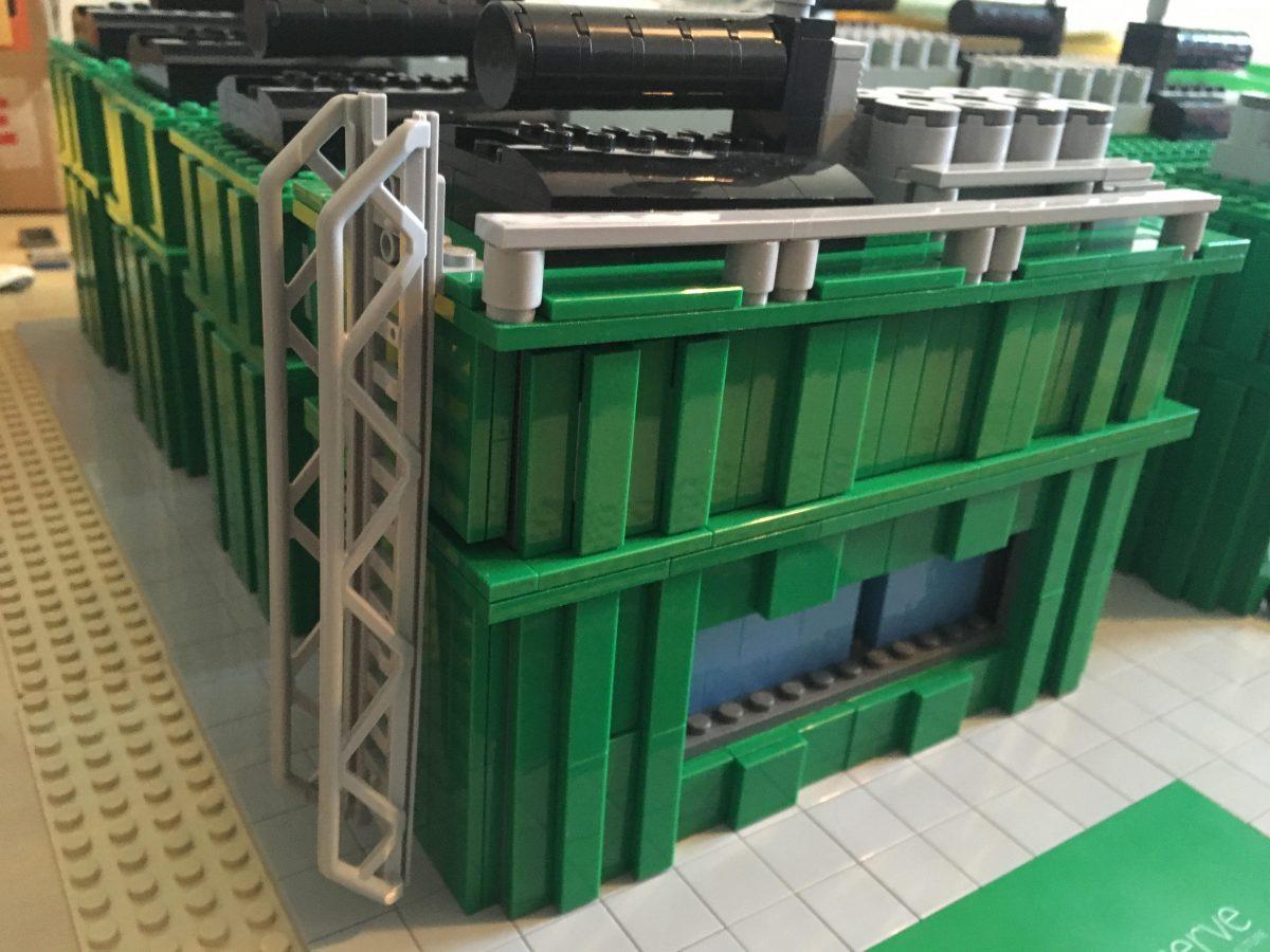 LEGO artist - model design for UK Power Reserve