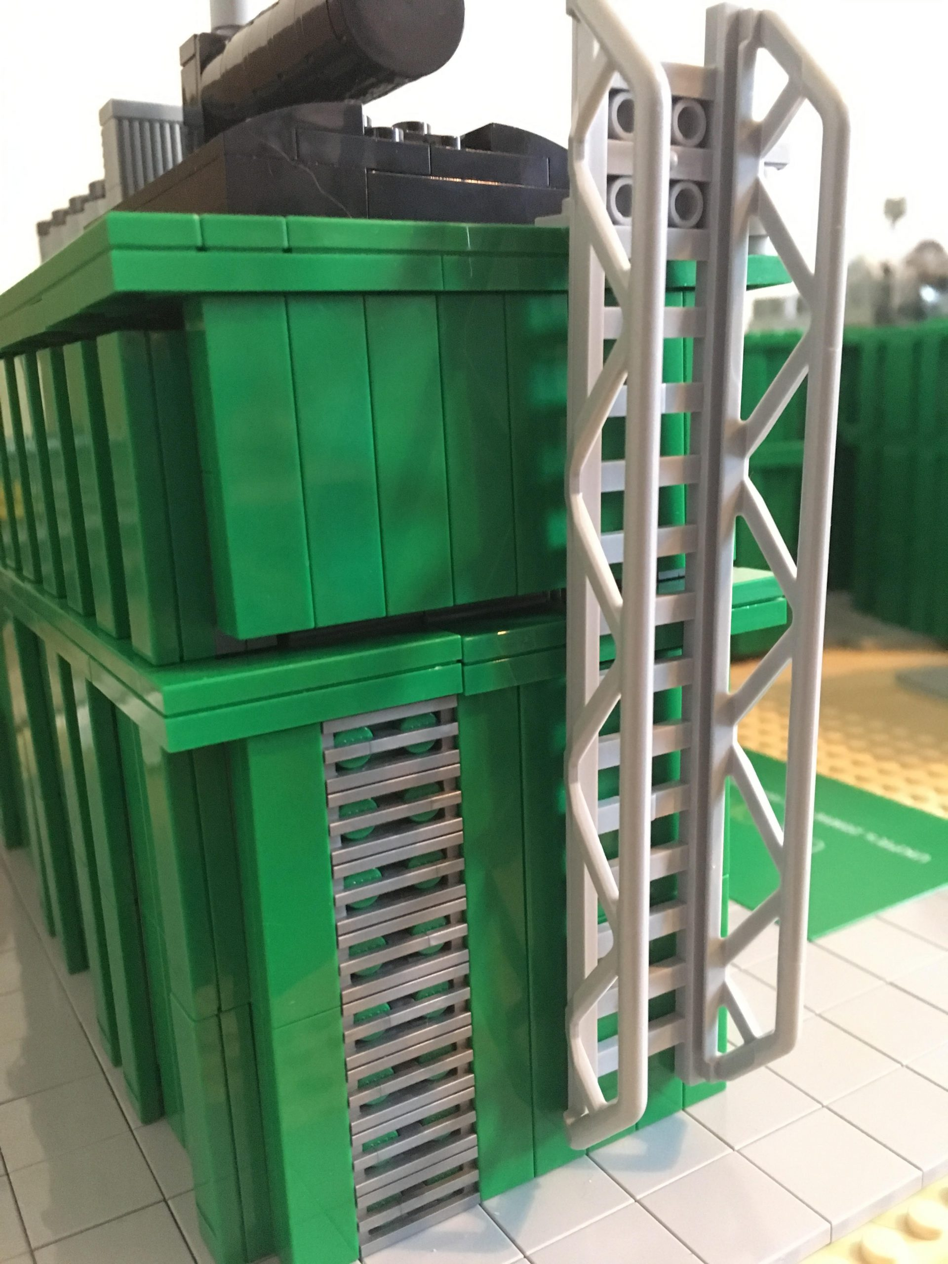 LEGO artist - model design for UK Power Reserve
