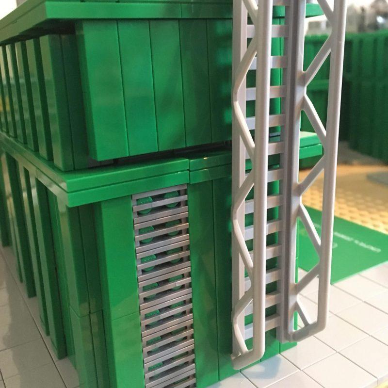 LEGO artist model design for UK Power Reserve