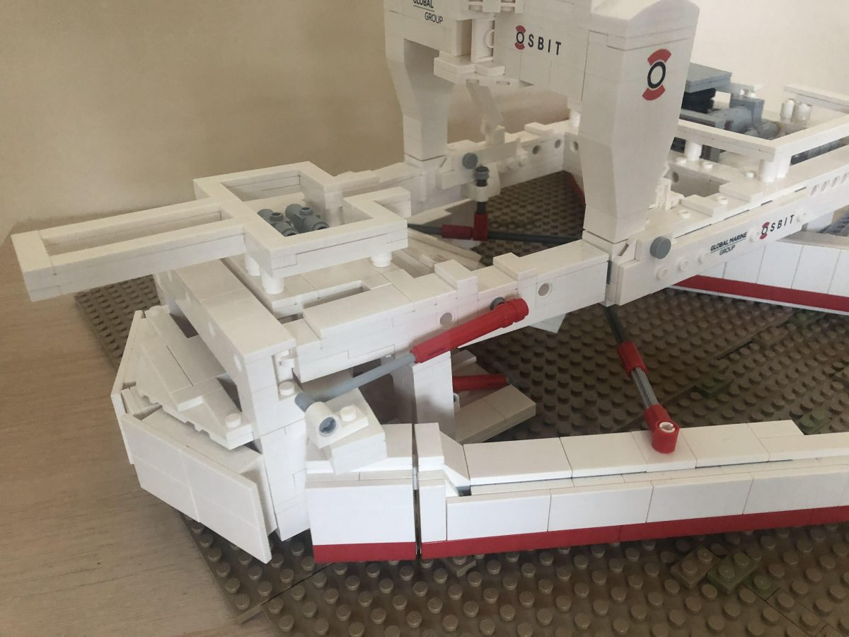 LEGO subsea product model design for Osbit