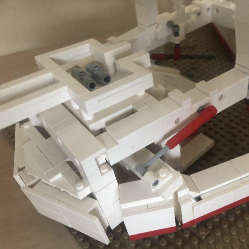 LEGO model of subsea plough