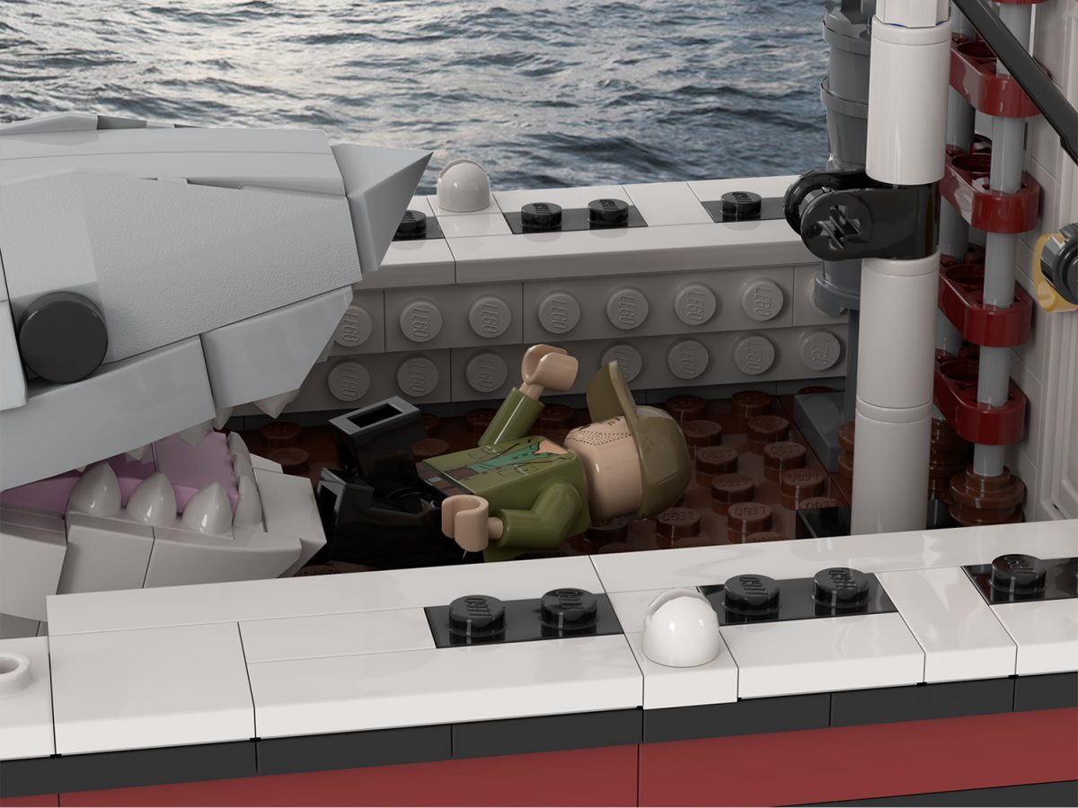 LEGO Ideas - Jaws - Orca boat model